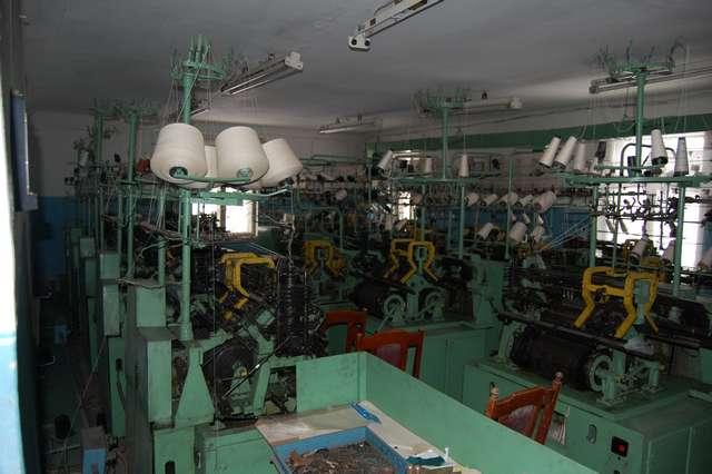 Пошивочно-вязальный цех (26 машин),0,14 га в собственности.